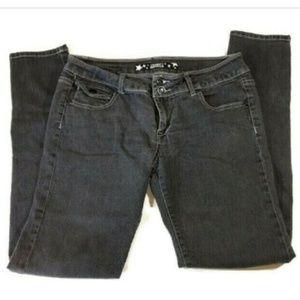 Celebrity Pink Jeans Skinny Faded Women Size 11